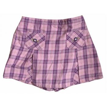 Детские шорты-юбка для девочки 5-9 лет