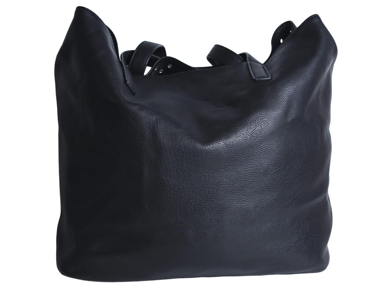 dbb4c76a7854 Кожаная женская сумка черного цвета, RESERVED, цена до 549, купить ...