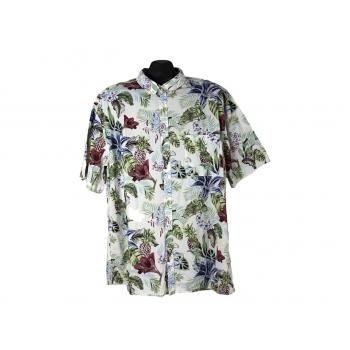 Мужская рубашка гавайка H&M, XL