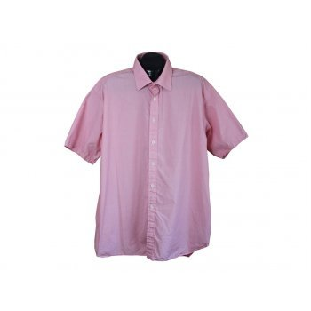 Рубашка мужская розовая JOSEPH TURNER, XXL