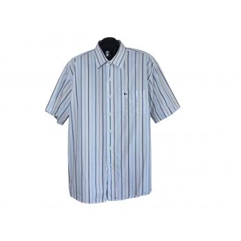 Рубашка мужская белая в полоску COMMANDER, 3XL