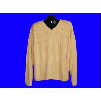 Мужской бежевый пуловер TALBOTS, XL