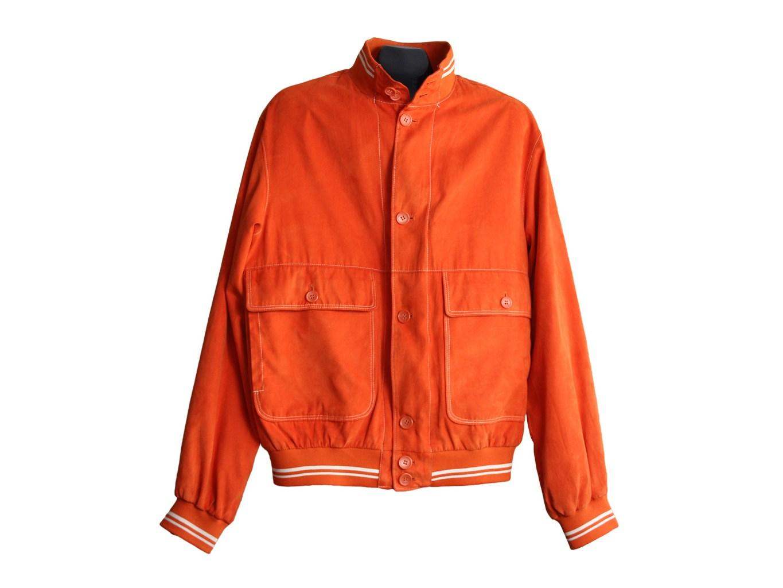 Мужская оранжевая куртка весна осень MILESTONE, L