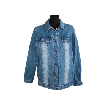 Женская синяя джинсовая куртка MAXIME, XL