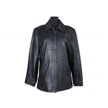 Женская черная кожаная куртка LIZ CLAIBORNE, XL