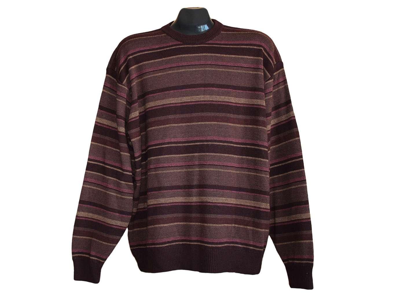 Мужской свитер в полоску COLLEZIONE MARKS & SPENCER, 3XL