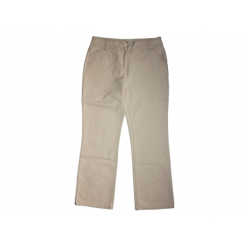 Женские бежевые брюки PER UNA, М