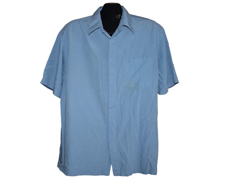 Мужская недорогая рубашка MARKS & SPENCER, XL