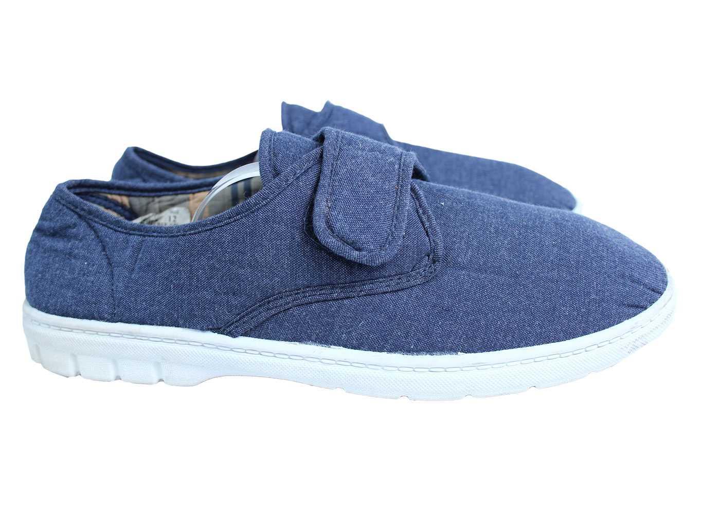 Мужские тканевые туфли HOBOS 45 размер
