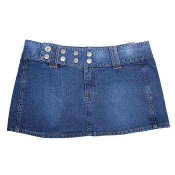 Женская джинсовая мини юбка FISHBONE, L