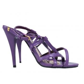 Женские фиолетовые босоножки 36 размер
