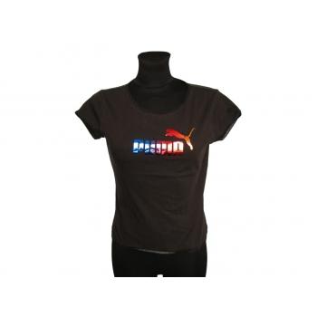 Женская коричневая футболка PUMA