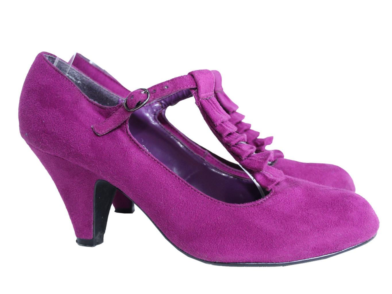 Женские туфли цвета фуксия NEW LOOK 38 размер