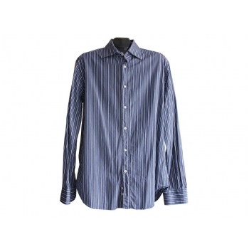 Мужская рубашка в полоску ZARA MAN, L