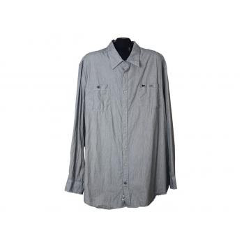 Мужская серая рубашка HAMPTON, 3XL