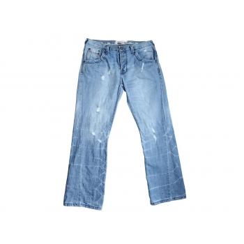 Джинсы рваные голубые мужские URBAN SPIRIT джинсы W 36 L 33