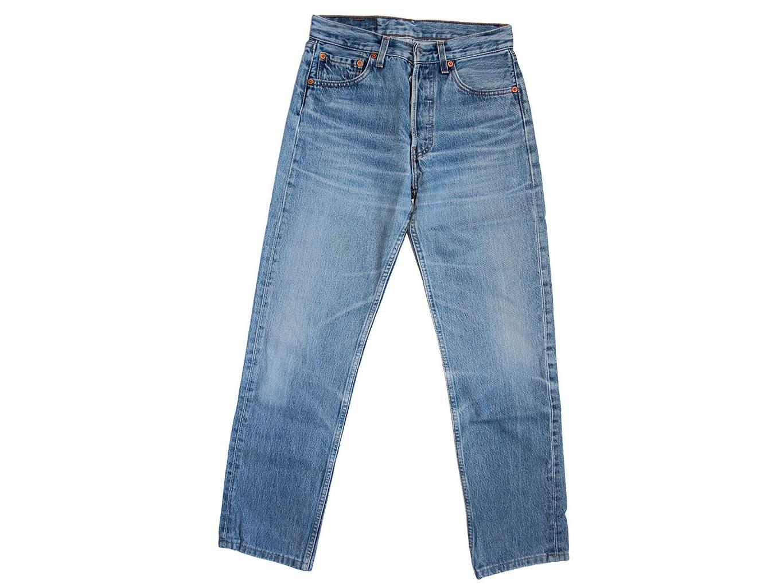 Джинсы голубые мужские LEVIS 501 W28 L30