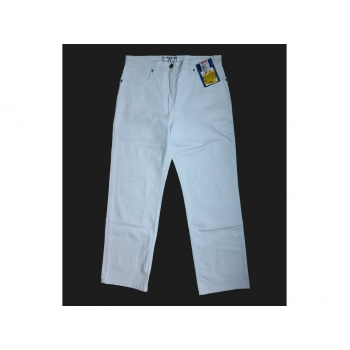Женские белые джинсы IMPRESSIONS, S