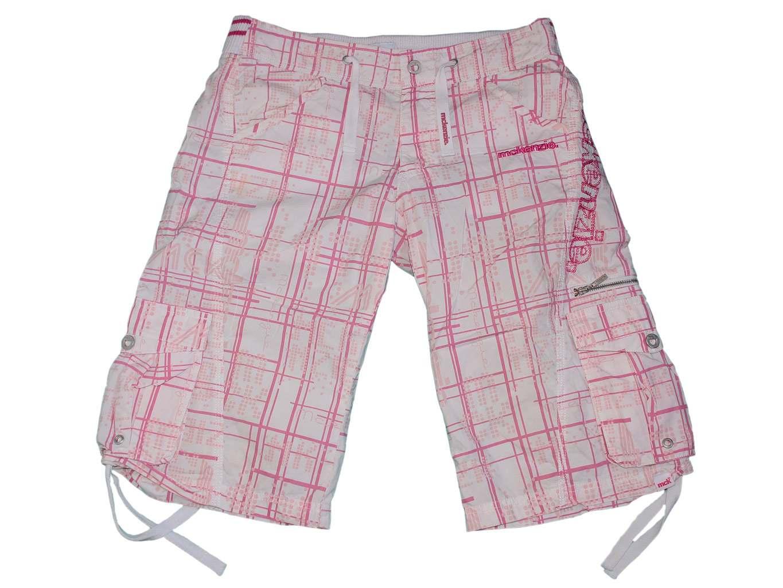 Женские розовые шорты в клетку McKENZIE cargo, S