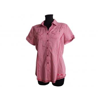 Женская красная рубашка в клетку CECIL, М