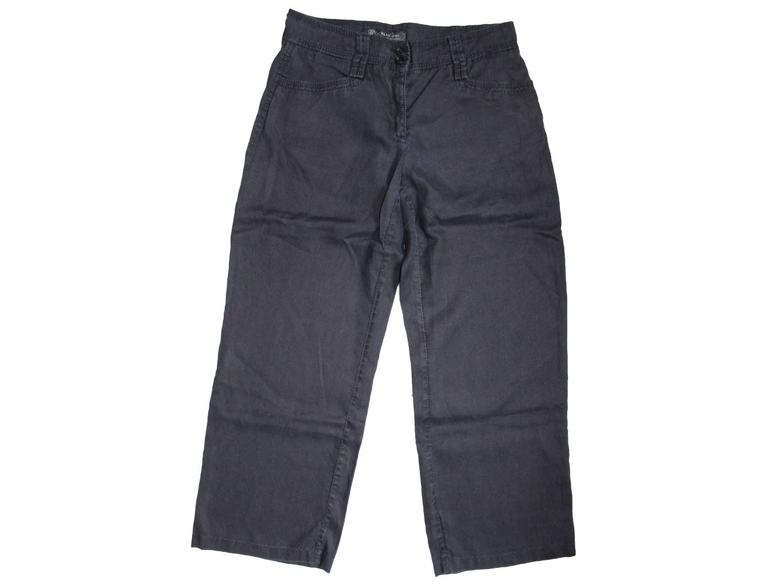 Женские черные льняные брюки BRAX, М