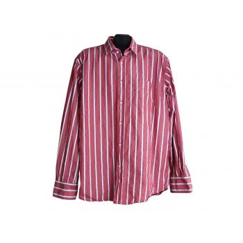 Мужская красная рубашка в полоску TOM TAILOR, XL