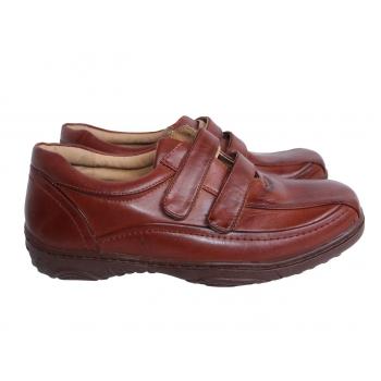 Мужские коричневые кожаные туфли CUSHION WALK 43 размер