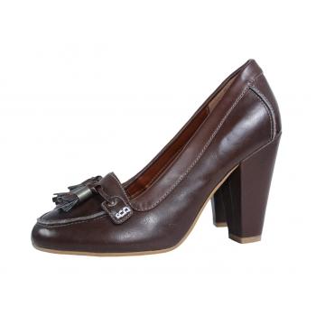 Женские кожаные туфли F&F 36 размер