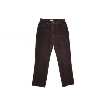 Женские коричневые велюровые брюки BRAX, М