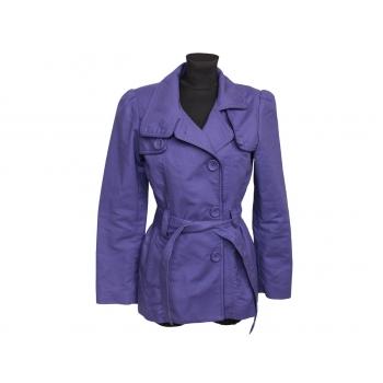 Женское фиолетовое пальто весна осень OASIS, S