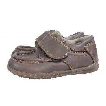 Коричневые детские ботиночки