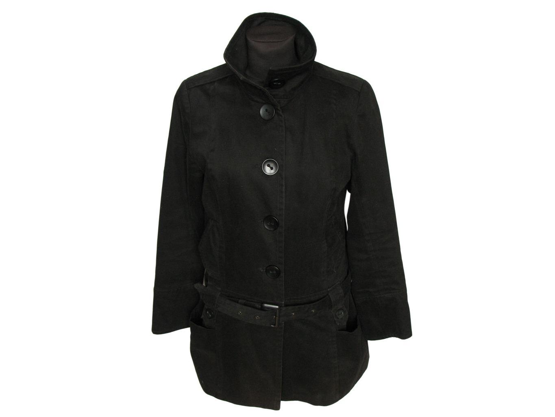 Женская черная куртка весна-осень NEW LOOK, M
