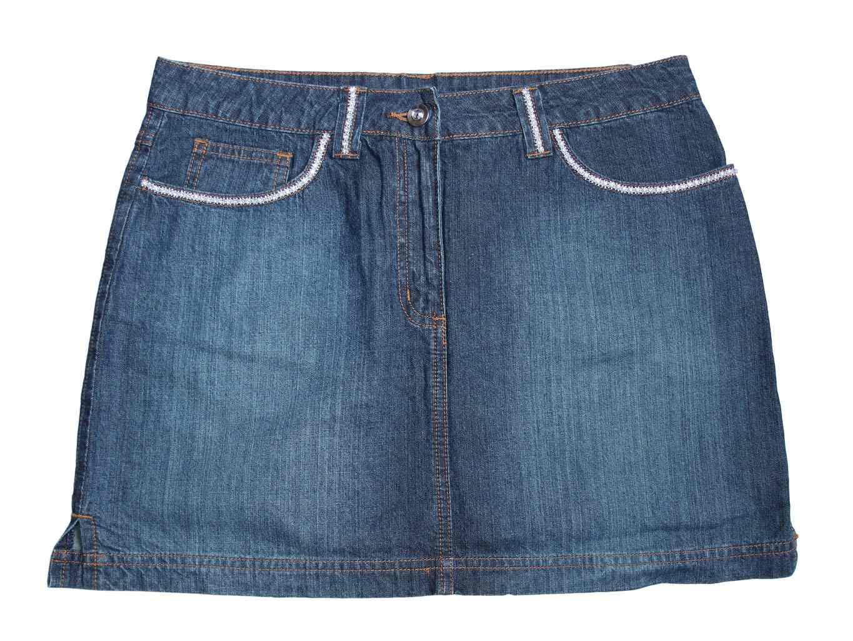 Женская джинсовая мини юбка GEORGE, М