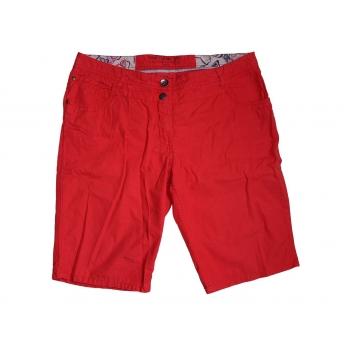 Женские красные шорты TOM TAILOR