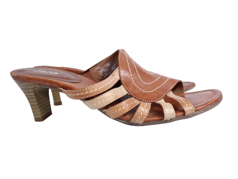 Женские кожаные босоножки JANA 37 размер
