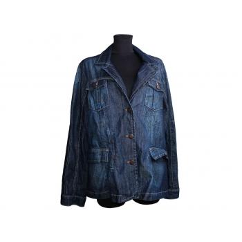 Женская синяя джинсовая куртка DENIM BY WISSMACH, L