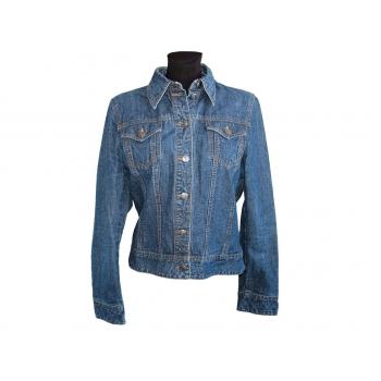 Женская синяя джинсовая куртка H&M
