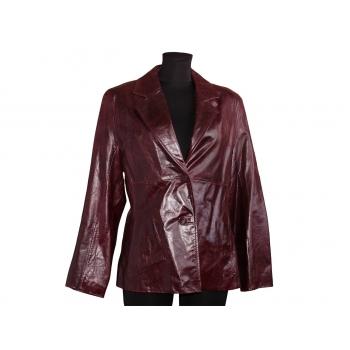 Женская бордовая кожаная куртка WILSONS LEATHER, L