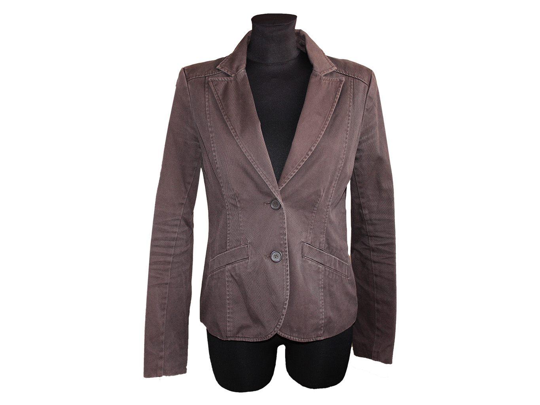 Женский коричневый пиджак H&M, М