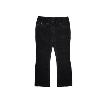 Женские черные вельветовые брюки NEXT, М