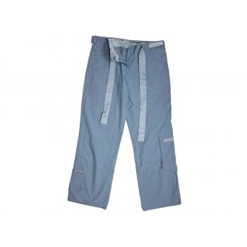 Женские летние голубые брюки MOTO, М