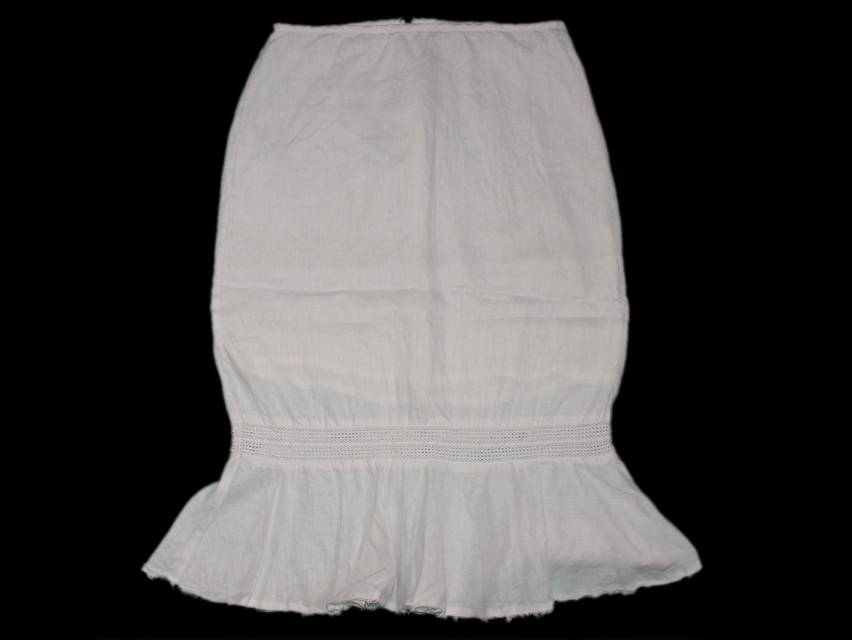 Женская белая льняная юбка MEXX, М