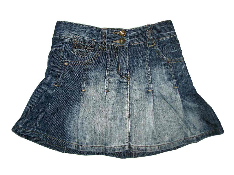 Джинсовая юбка для девочки 4-6 лет GEORGE