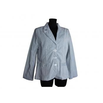 Женская серая куртка на весну осень NUMBER ONE, XL
