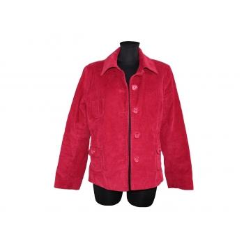 Женская красная вельветовая куртка BLUE MOTION