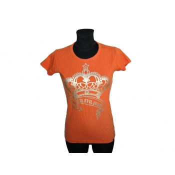 Женская оранжевая футболка APRIL EVIL, XXS