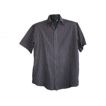 Мужская рубашка в полоску EASY CARE BHS, L