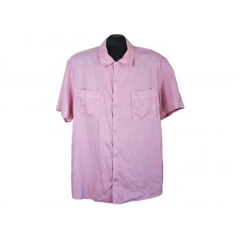 Мужская льняная рубашка, L