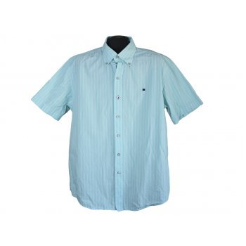 Мужская голубая рубашка STATE OF ART, XL