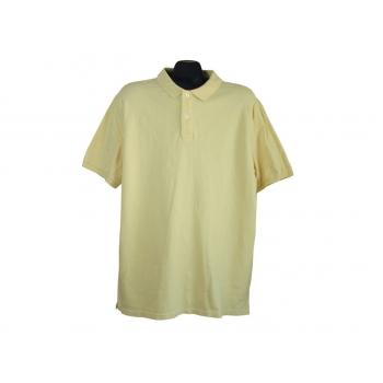 Поло мужское желтое THE BASICS C & A, L